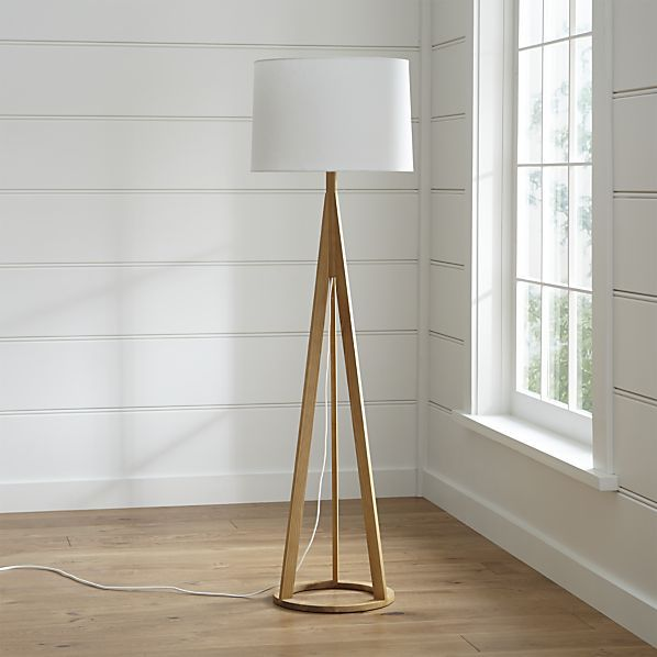 Jackson Floor Lamp C&B $229  (if you like this tripod look WE has some, too)
