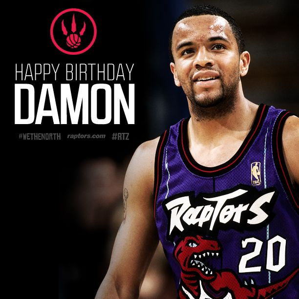 Happy Birthday to our 1st-ever [entry] draft pick Damon Stoudamire today! #RTZ #WeTheNorth #MightyMouse