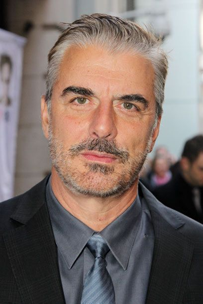 Chris Noth- HE LOOKS SOOOO MUCH BETTER WITH GRAY HAIR
