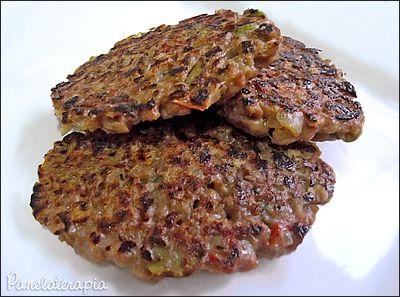 PANELATERAPIA - Blog de Culinária, Gastronomia e Receitas: Hamburger de Soja