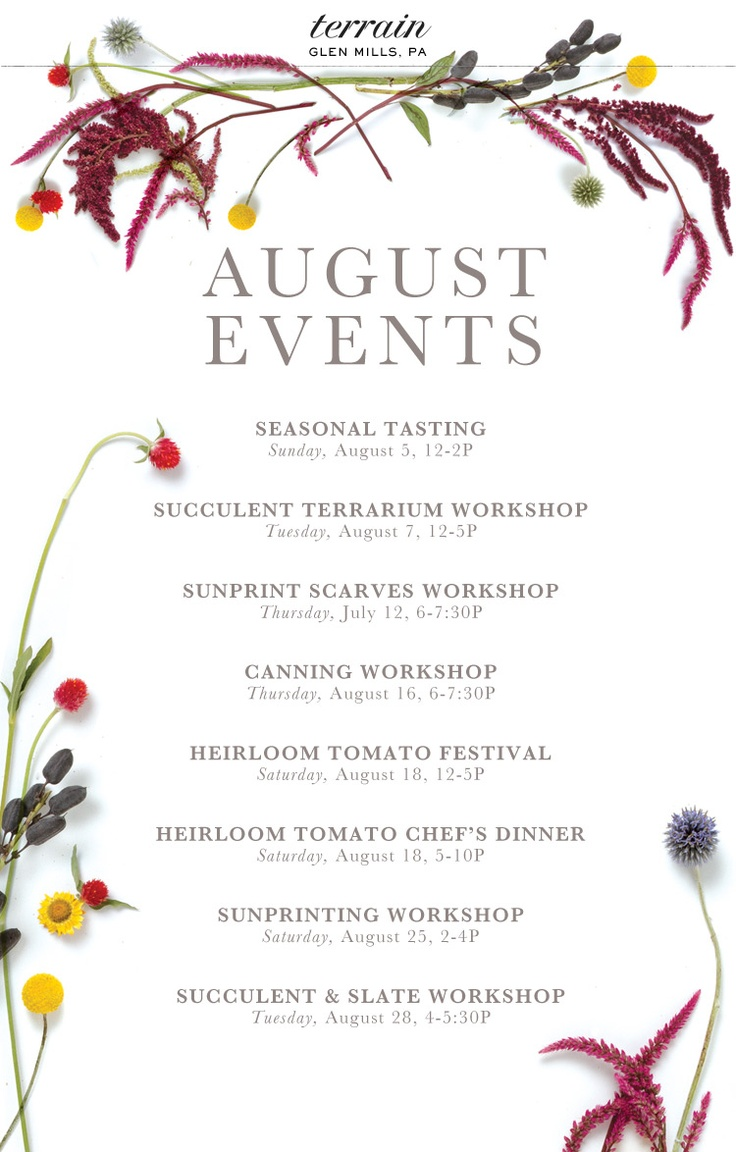 08.01.12 August Events