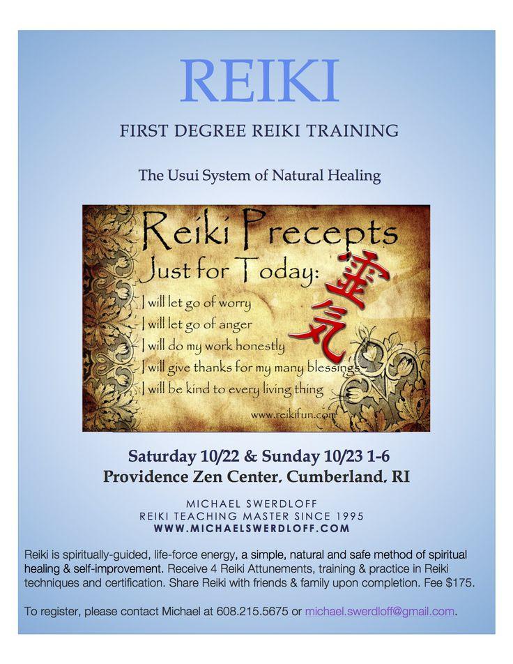Reiki Training Rhode Island