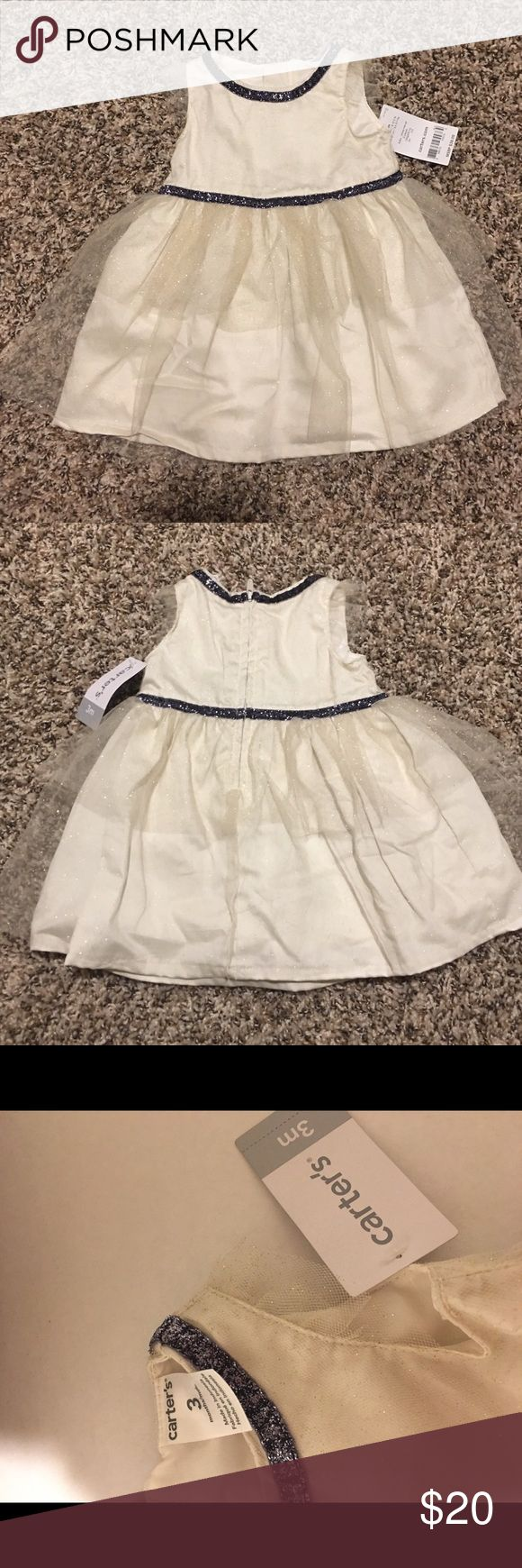 Carters dress NWT adorable dress! Perfect for the holidays! The tag says there are two pieces all I have it's the dress Carter's Dresses Formal