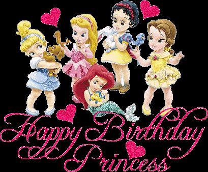 Image detail for -Happy Birthday - Disney Princess Photo (16965660) - Fanpop