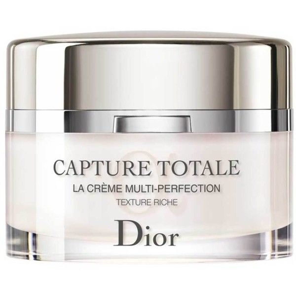 Christian Dior Capture Totale Multi Perfection Creme Rich Found On Polyvore Featuring Beauty Products Skincare Face Care Dior Capture Totale Dior Beauty Dior