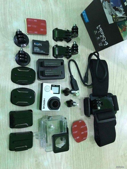 GoPro Hero 4 Black full box  phụ kiện như mới