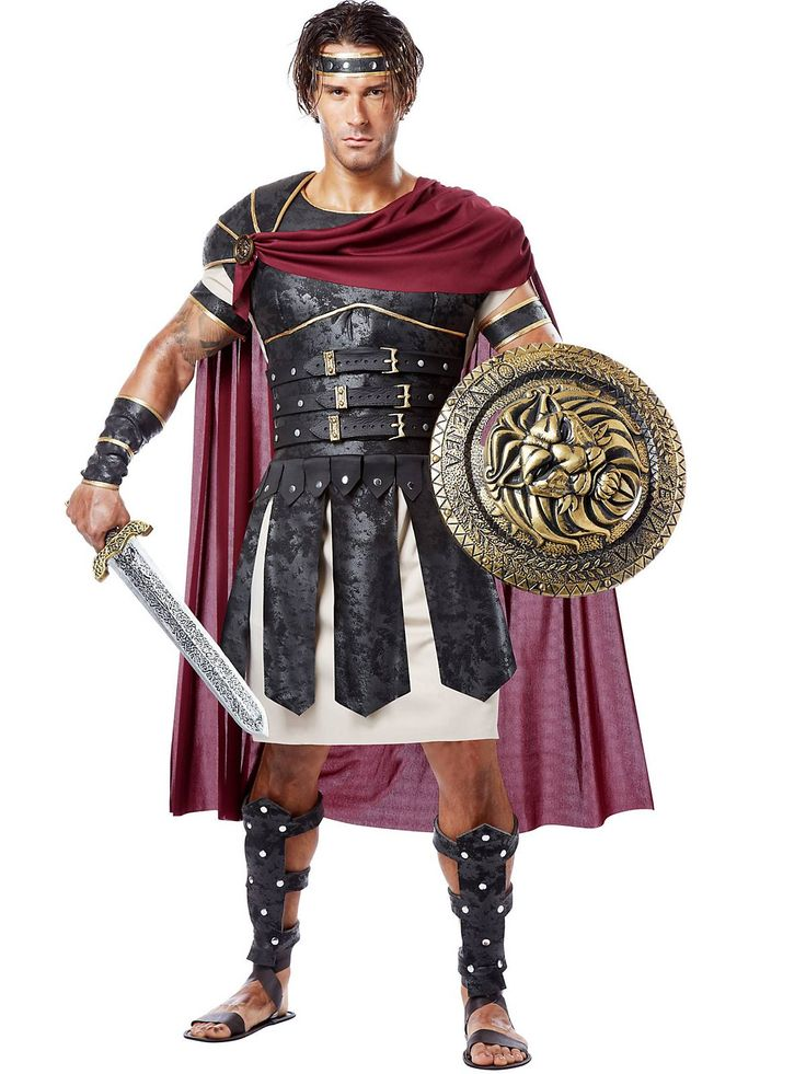 Mens Roman Gladiator Costume | Cheap Greek & Roman Costumes for Men