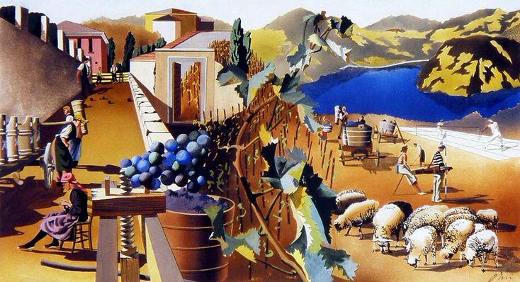 http://sergej-manit.livejournal.com/854046.html Дизайн большой фрески для  для швейцарской национальной экспозиции 1939 год.