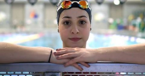 Yusra was one of the only people who could swim when her boat, full of families fleeing Syria, began to sink. So she jumped into the water and swam for three hours to the Greek shores, towing the boat and saving everyone on board. Now, 2 years later, Yusra will be swimming in the Olympics as the youngest member of the world's first refugee team.  In just days, 10 incredible men and women - from Syria to South Sudan - will compete in the Olympics as the first refugee team in history. But…