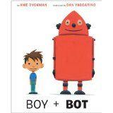 Preschool Robot Theme Activities Boy + Bot book cover