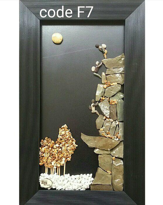 تابلو سنگهای فانتزی . هدیه ای ماندگار ❤ 30×50 cm فروش کلی و جزئی ارسال به سراسر ایران . . +98915 80 20 710