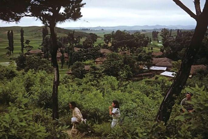 1953년 수원에서 미군으로 근무한 로버트 리 월워스 씨가 수원화성과 개발되지 않은 주변 도시의 자연스러운 풍경, 아이들의 모습을 사진으로 담았다. 수원화성박물관 제공