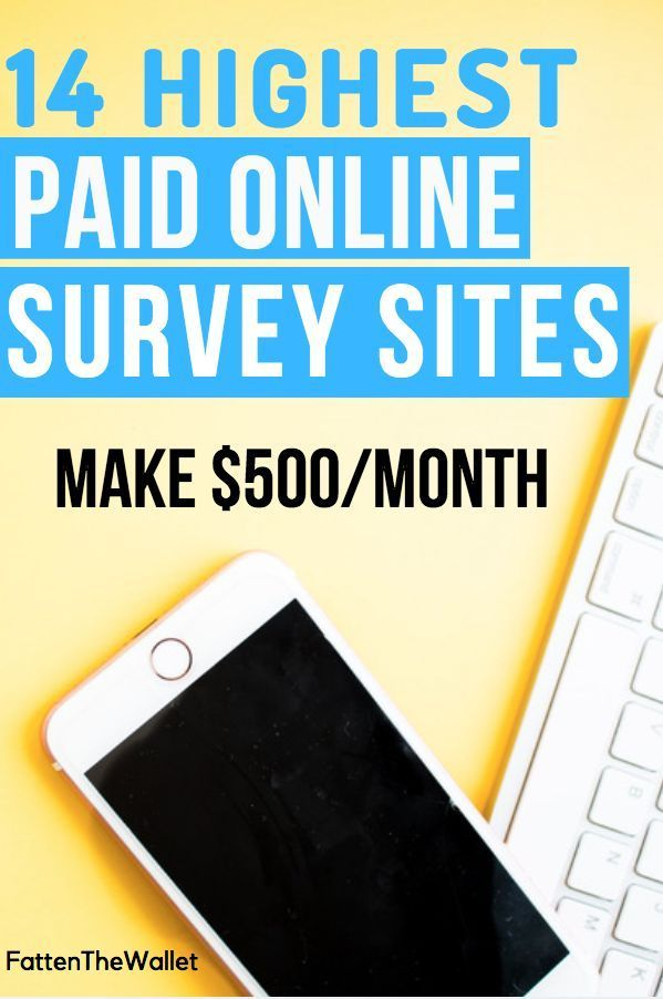 12 Highest Paid Online Surveys For 2019 [Up to $50/survey – Make Money on the Side