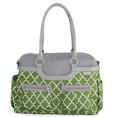 love this diaper bag: JJ cole Diaper bag satchel aspen arbor