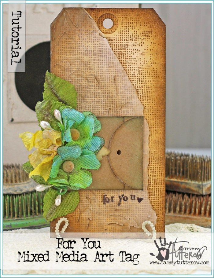 For You Art Tag by Tammy Tutterow | www.tammytutterow.com