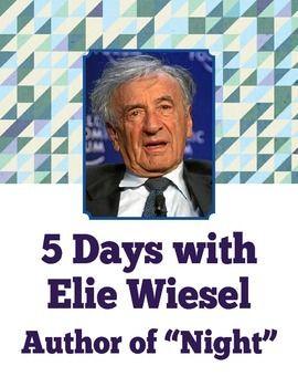 elie weisel essays
