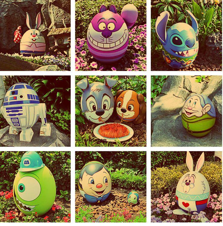 Disney Easter eggs!