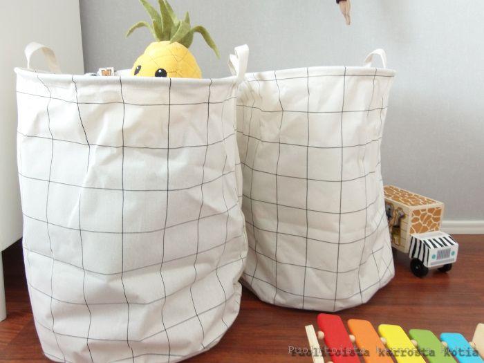 Puolitoista kerrosta kotia: Pyykkisäkki, josta on moneksi