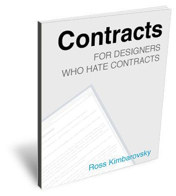 Contracts for Graphic Designers, It's a quick, 20 page read and we've shared a template agreement that you can modify for your own use.