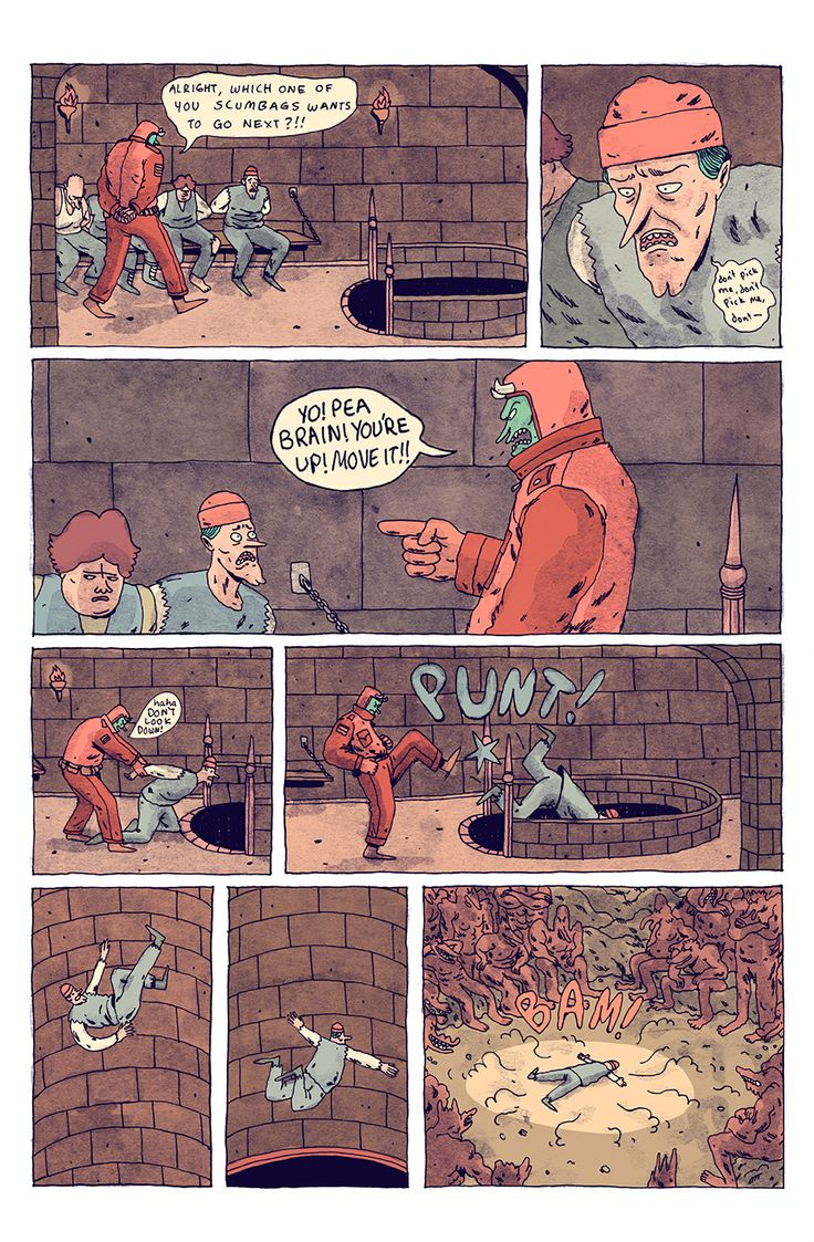 Meanwhile...01 - Wren McDonald Illustration