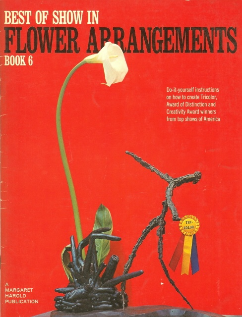 28 best flower arranging books images on pinterest floral best of show flower arrangements book 6 1966 350 solutioingenieria Choice Image