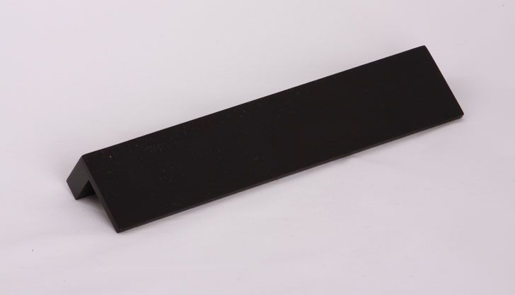 Bruxelles sort, længde 14 mm