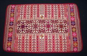 Palestinian embroidery pillow مخدة تطريز فلاحي