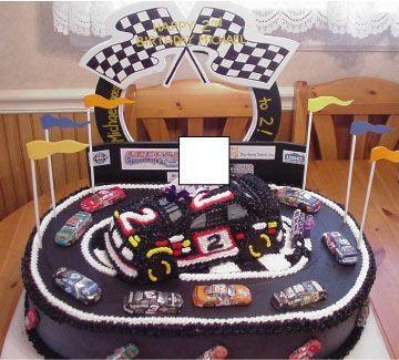 nascar car cake | nascar and racetrack — Racecars / Nascar / Forumula 1 Etc.
