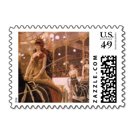 Ladies of the Cars (Circus) by Tissot, Vintage Art Stamp We have the best promotion for you and if you are interested in the related item or need more information reviews from the x customer who are own of them before please follow the link to see fully reviewsThis Deals          Lad...