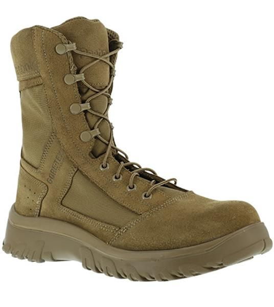Men's Reebok KRIOS OCP Tactical Boot - COYOTE. Army Coyote Boot for the Scorpion W2 OCP Uniform. Made in U.S.A. OCP Boots