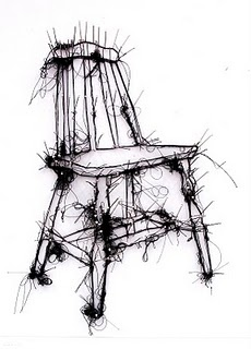 thread drawings by debbie smith
