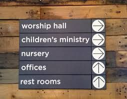 interior wayfinding signs -