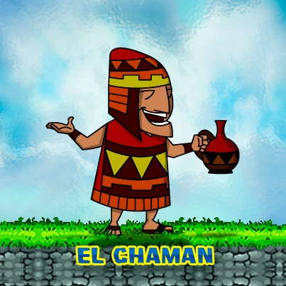 El Chaman. #peru #games #chaman #characters #inca