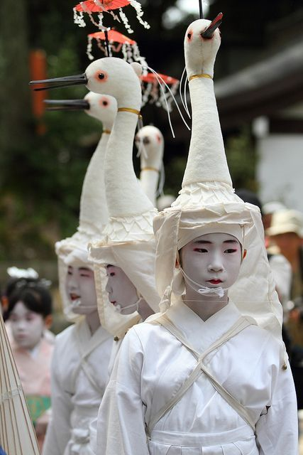 ''Heron is on a head"
