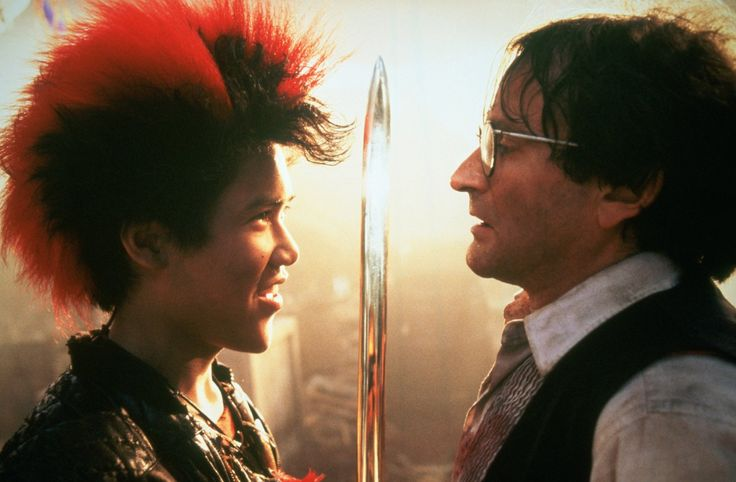 Robin Williams and Dante Basco in Hook (1991)