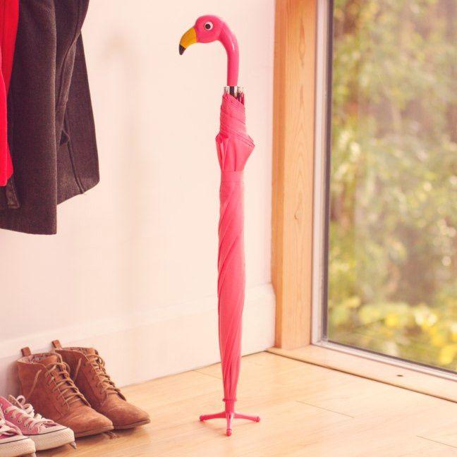 Parapluie Flamant rose #umbrella #parapluie #flamingo