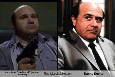 """Harry from """"Total Recall"""" (Robert  Costanzo) Totally Looks Like Danny Devito"""