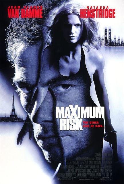 Review Maximum Risk 1996 Ringo Lam S American Debut Van Damme Jean Claude Van Damme Movie Posters