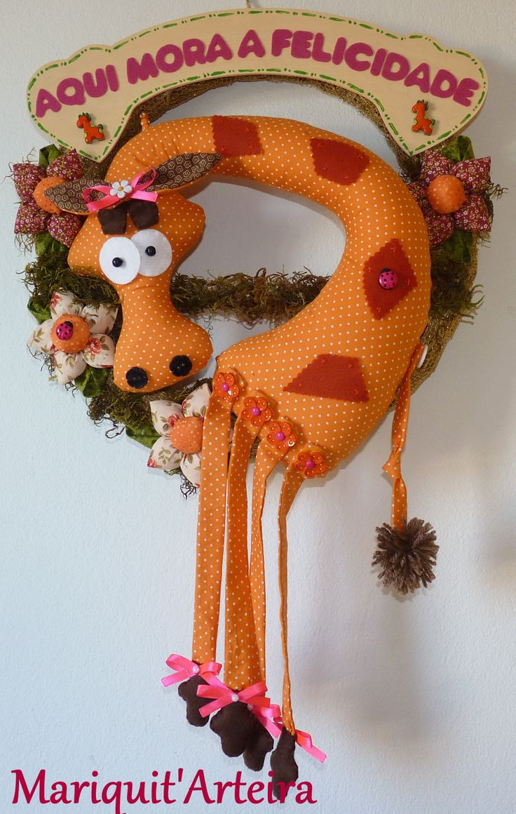 Guirlanda Girafa.