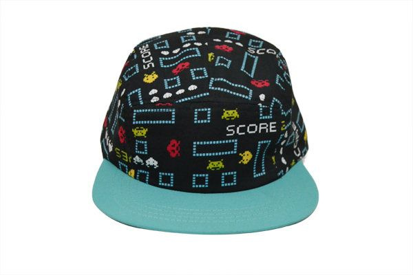SPACE INVASION 5 PANEL CAP by Griot Space for sale on http://hellopretty.co.za