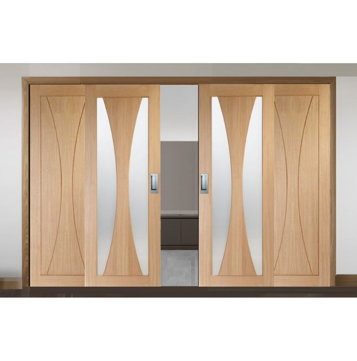 Sliding French Doors with Verona Glazed & Verona Panel Doors