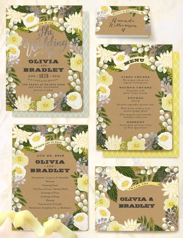 Check out these foil-pressed wedding invitations from Minted! #stationery #invites #wedding http://www.minted.com/product/foil-pressed-wedding-invitations/MIN-OY5-IFS/floral-canopy?org=photo
