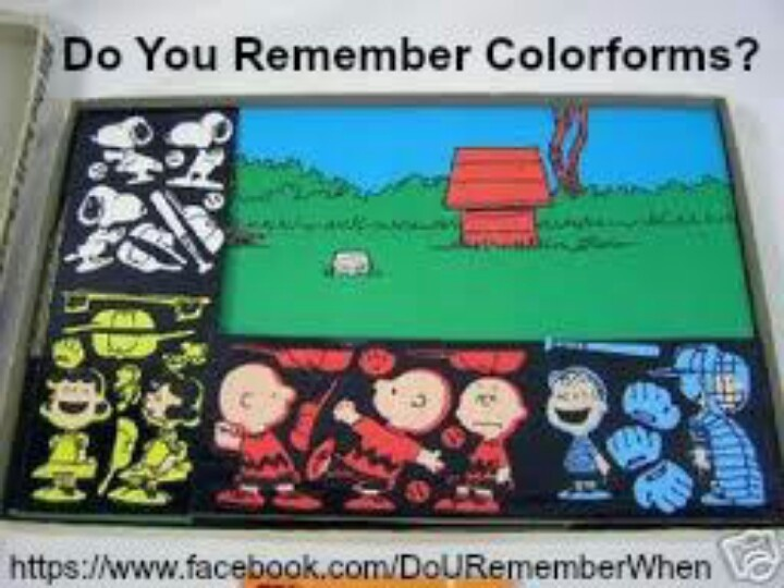 Colorforms...we had this!