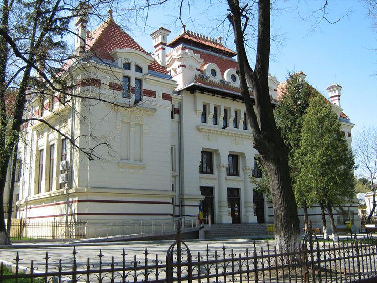 Palatul de Justiție (1906-1916), Bd. Eminescu Mihai 38, Botoșani; arh. Petre Antonescu