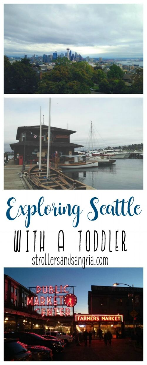 Taking a vacation with a toddler and what to pack, where to visit and how to keep your toddler busy! Seattle is a great place to take kids and explore the museums and parks. #vacation #seattle #toddler