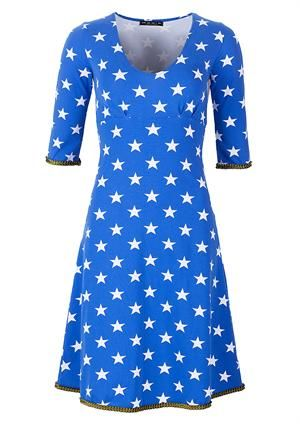MANIA Copenhagen dress Stella blue star