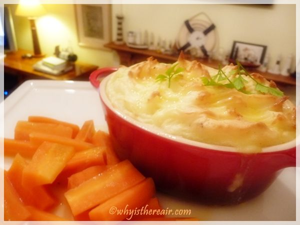 Gorgeous Thermomix Fish Pie is ready in just an hour