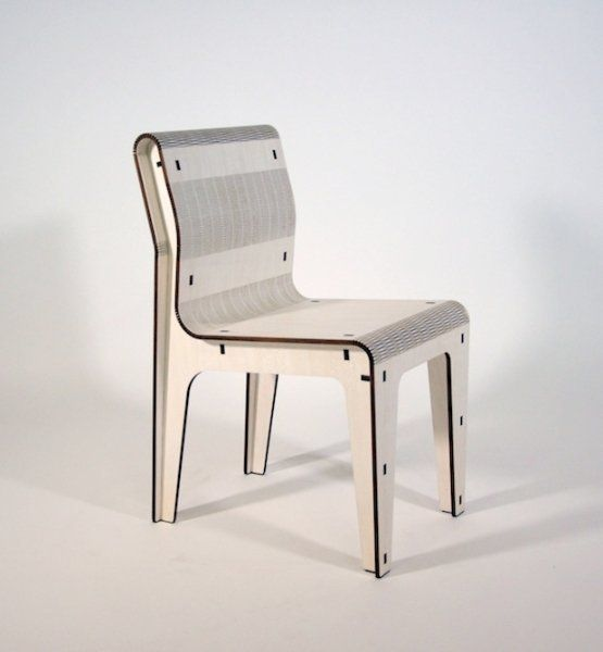 white chair, ,made in italy, fuorisalone2013, laser cut, wood, wooden chair, cool chair, design chair, furniture