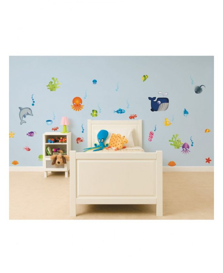 Your little ones will love these Under the Sea Stikaround Wall Stickers. Perfect for making a feature wall or border, these stickers are an easy and inexpensive way to create an Under the Sea theme.