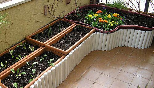 Cómo crear un práctico huerto urbano en la terraza